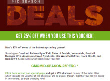 Green Man Gaming Mid Season Deals