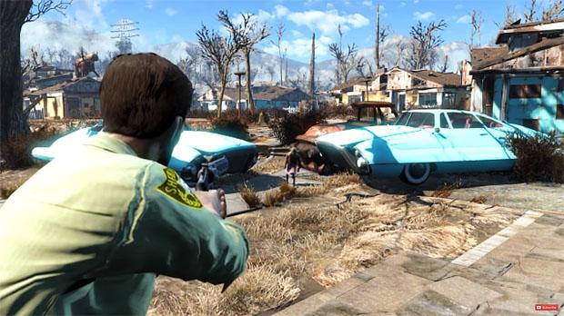 Original Walking Dead Trailer Recreated In Fallout 4