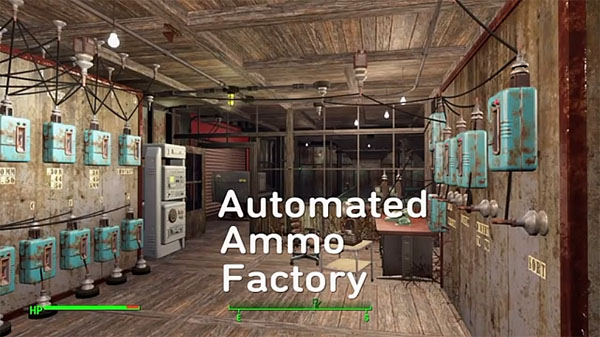 Automated Ammo Factory in Fallout 4