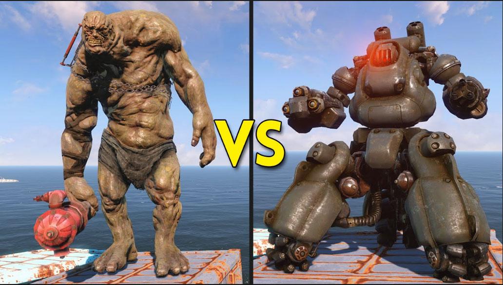 Behemoths Vs Sentry Bots